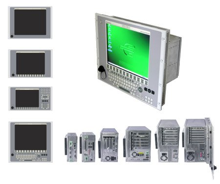 Industrie-PC, Industrial-PC, Bedienfeld, Control panel