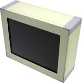 Industrie Flachdisplay, Industrial flat panel
